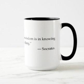 Zitat-Philosophie-Kaffee-Tasse SOCRATES Tasse