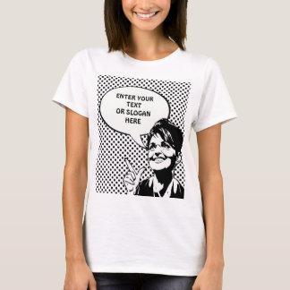 Zitat Sarahs Palin (betreten Sie Ihre Selbst) T-Shirt