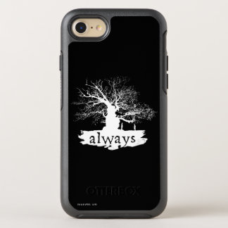 Zitat-Silhouette Harry- Potterbann-| immer OtterBox Symmetry iPhone 8/7 Hülle