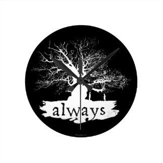 Zitat-Silhouette Harry- Potterbann-| immer Uhren