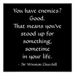 Zitat Sir-Winston Churchill Plakate