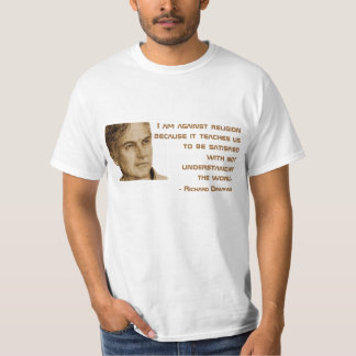 Zitat-T-Stück Richard Dawkins T-Shirt