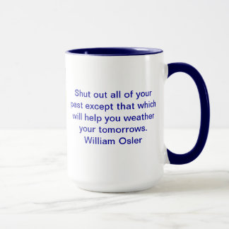 Zitat-Tasse Williams Osler Tasse