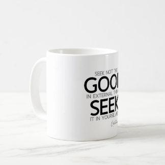 ZITATE: Epictetus: Suchvorgang gut Kaffeetasse