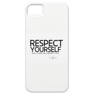 ZITATE: Konfuzius: Respekt sich iPhone 5 Hülle