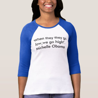 Zitathemd Michelle Obama T-Shirt