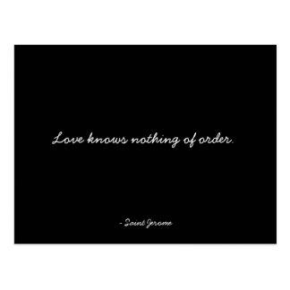 Zitierfähige Postkarte - Leidenschaft und Liebe
