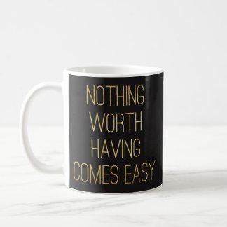 Zitierfähige Tassen - nichts wert Haben. -