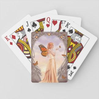 ZitrinBirthstone feenhafte klassische Spielkarten