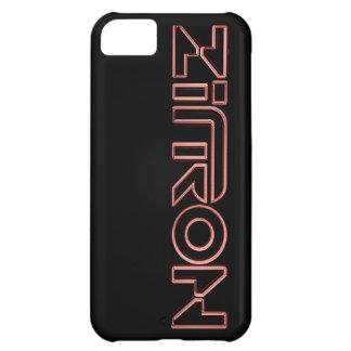 Zītron Rot auf schwarzem Iphone 5 Kasten Hüllen Für iPhone 5C