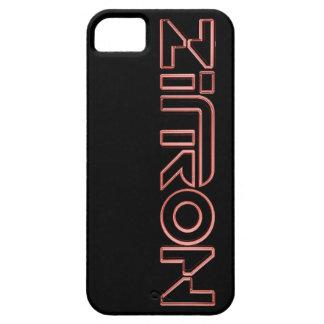 Zītron Rot auf schwarzem Iphone 5 Kasten iPhone 5 Etuis