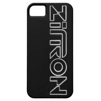 Zītron Weiß auf schwarzem Iphone 5 Kasten Hülle Fürs iPhone 5