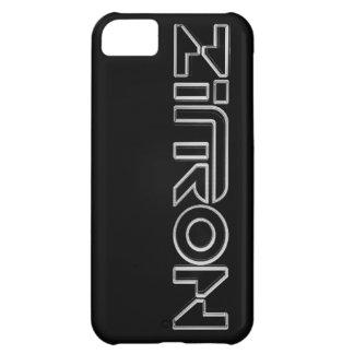 Zītron Weiß auf schwarzem Iphone 5 Kasten Hülle Für iPhone 5C
