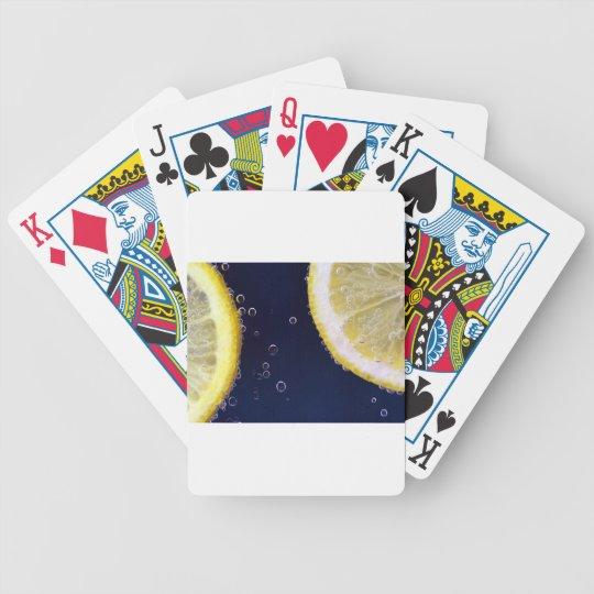 Zitrone Bicycle Spielkarten
