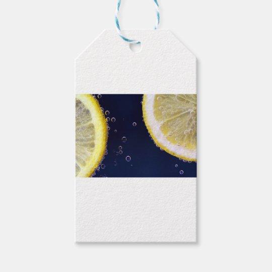 Zitrone Geschenkanhänger