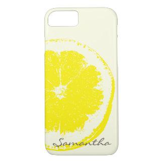 Zitrone iPhone 8/7 Hülle