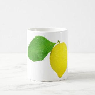 Zitrone Kaffeetasse