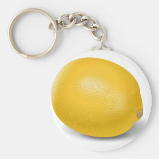 Zitrone Schlüsselanhänger