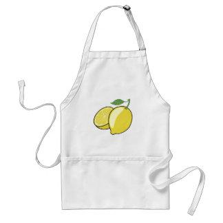 Zitrone Schürze