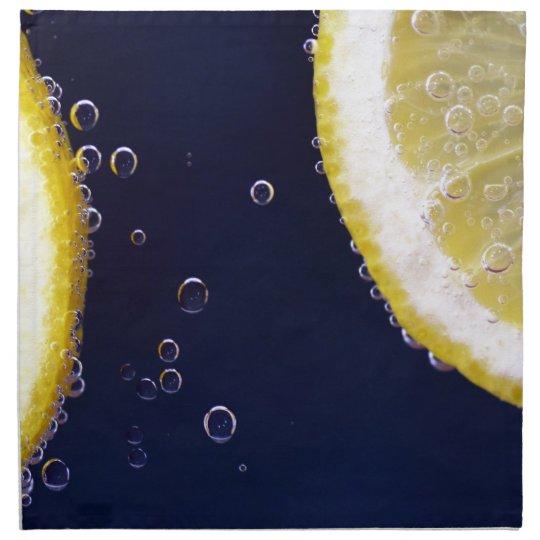 Zitrone Serviette