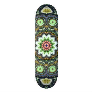 ZitroneLimoner Mandala 20,1 Cm Skateboard Deck
