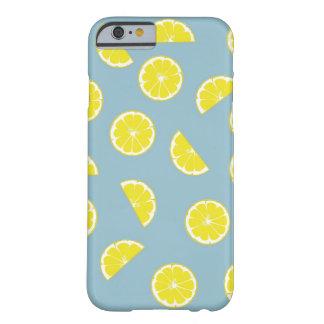 Zitronen-blaue Case-Mate Iphone 6/6S