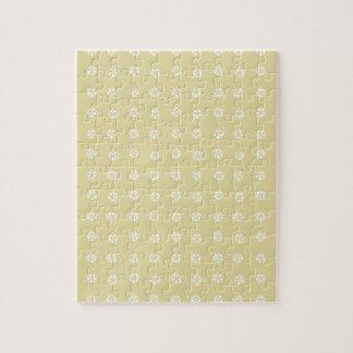 Zitronen-Blumen-Muster Puzzle