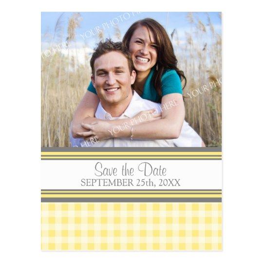 zitronen foto save the date das postkarten zazzle. Black Bedroom Furniture Sets. Home Design Ideas