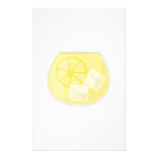 Zitronen-Getränk Personalisiertes Büropapier