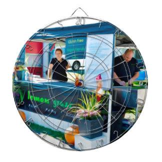 Zitronen-Gras-Grill Bahn MI Huhn Dartscheibe