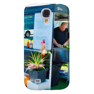 Zitronen-Gras-Grill Bahn MI Huhn Galaxy S4 Hülle