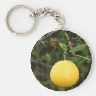 Zitronen-Kopf Schlüsselanhänger