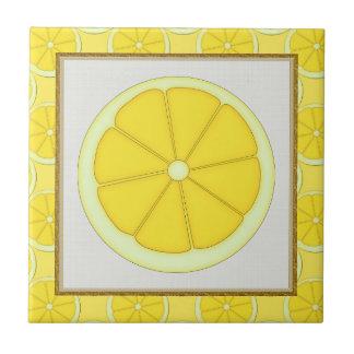 Zitronen-Küchenfliese Fliese