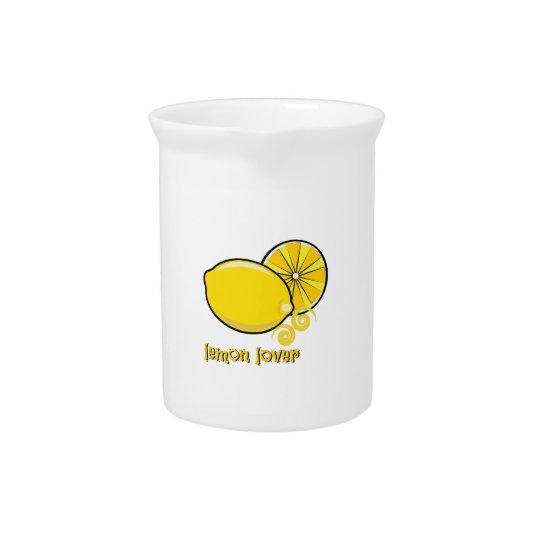 Zitronen-Liebhaber Getränke Pitcher