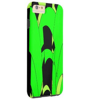 Zitronen-Limoner abstrakter Dschungel Tough iPhone 6 Plus Hülle