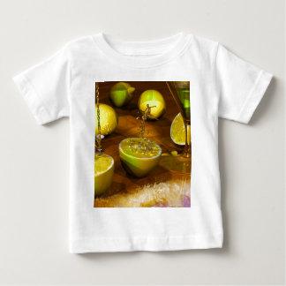 Zitronen-Mädchen Baby T-shirt