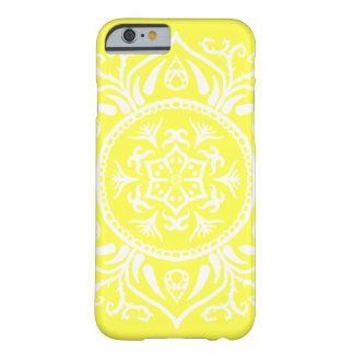 Zitronen-Mandala Barely There iPhone 6 Hülle