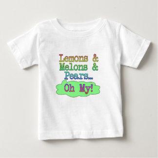 Zitronen, Melonen, Birnen, oh mein! Baby T-shirt