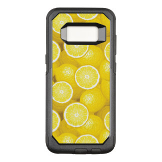 Zitronen-Muster 2 OtterBox Commuter Samsung Galaxy S8 Hülle