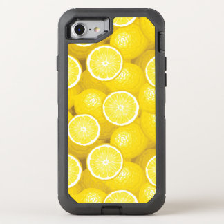Zitronen-Muster 2 OtterBox Defender iPhone 8/7 Hülle