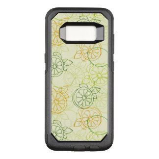 Zitronen-Muster OtterBox Commuter Samsung Galaxy S8 Hülle