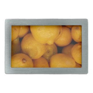 Zitronen Rechteckige Gürtelschnalle