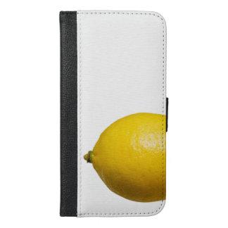 Zitronen-Telefon-Kasten iPhone 6/6s Plus Geldbeutel Hülle