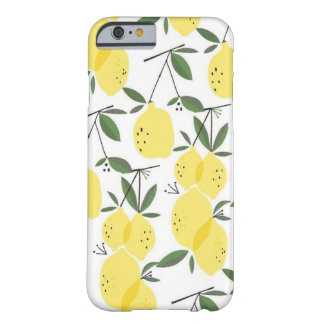 Zitronen u. Zitronen iPhone 6/6s, kaum Fall Barely There iPhone 6 Hülle
