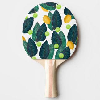 Zitronen und Kalke Tischtennis Schläger
