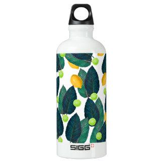 Zitronen und Kalke Wasserflasche