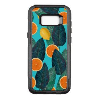 Zitronen und Orangen aquamarin OtterBox Commuter Samsung Galaxy S8+ Hülle
