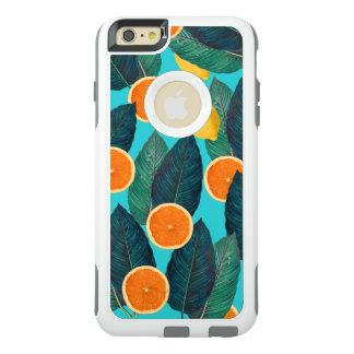 Zitronen und Orangen aquamarin OtterBox iPhone 6/6s Plus Hülle