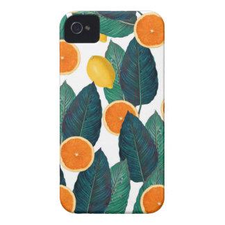 Zitronen und Orangen weiß iPhone 4 Hüllen