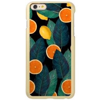 Zitronen- und Orangenschwarzes